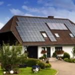 Home roof Solar Panels